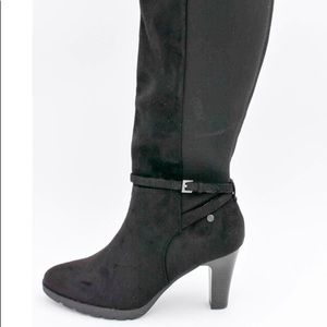 Tall High Heel Stretch Dress Boots